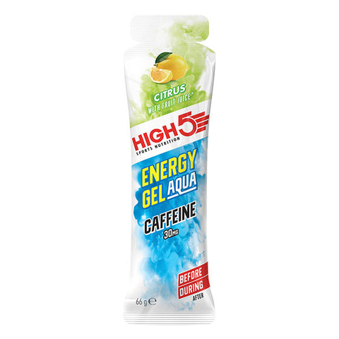 Nutri-Bay High5 Energy Gel AQUA Caffeine (66mL) - Citrus (Agrumes)