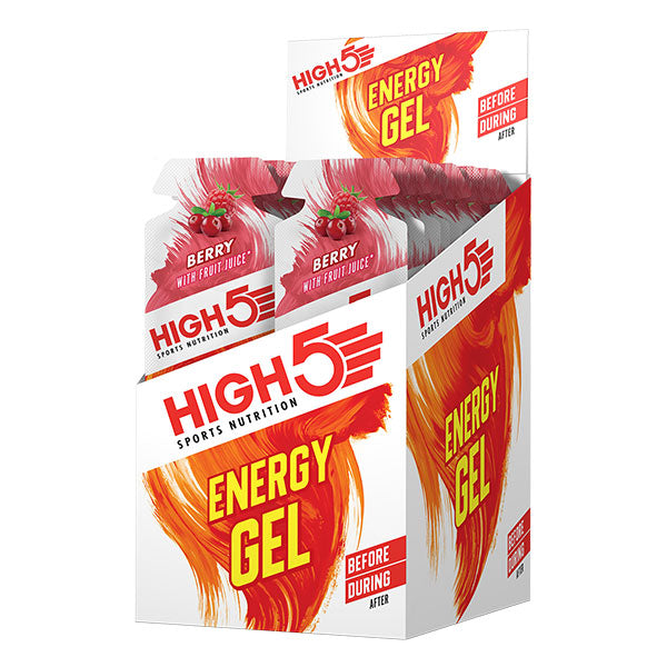 Nutri-Bay HIGH5 - Gel de energia (40g) - Berry Box