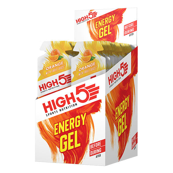 Nutri-Bay HIGH5 - EnergyGel (40g) - Orange - Box