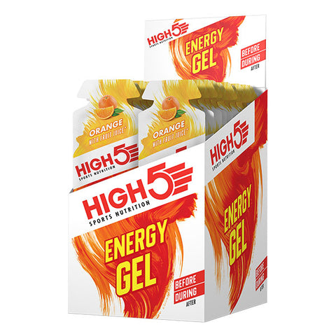 Nutri-Bay HIGH5 - Energy Gel (40g) - Orange - Box