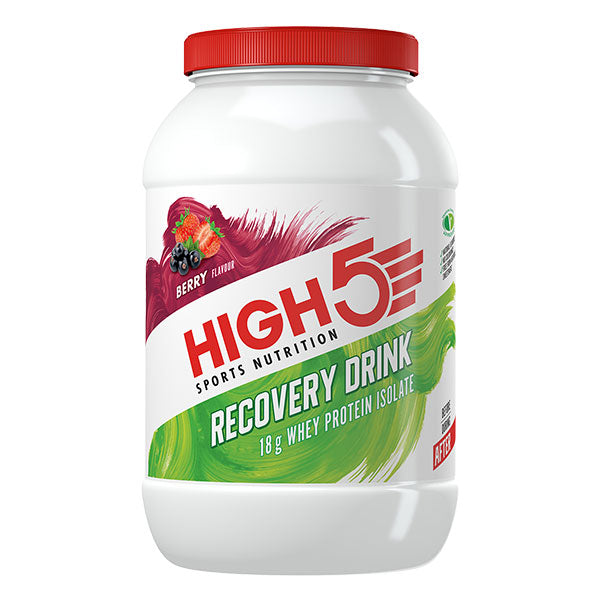 Nutri-Bay HIGH5 - Boisson Protein Recovery (1.6kg) - Berry