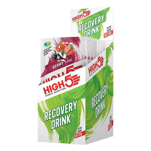 Nutri-Bay HIGH5 - Boisson Protein Recovery (60g) - Berry Box