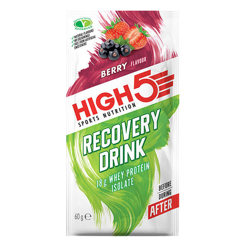 Nutri-Bay HIGH5 - Boisson Protein Recovery (60g) - Berry - Unidose