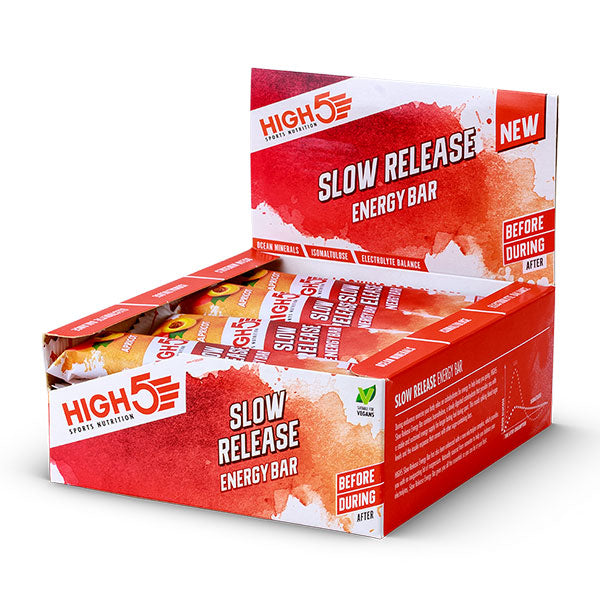 Nutri-bay | HIGH5 Slow Release Energy Bar (40g) - Apricot - Box