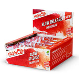 Nutri-Bucht | HIGH5 Slow Release Energy Riegel (40 g) - Blueberry & Raspberry - Box