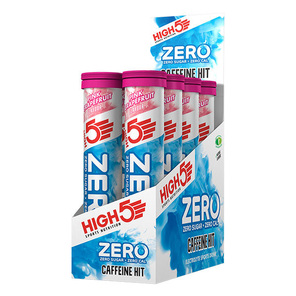 Nutri-Bay HIGH5 - ZERO Koffein Hit Pastillen (20x4g) - Pink Grapefruit - Box