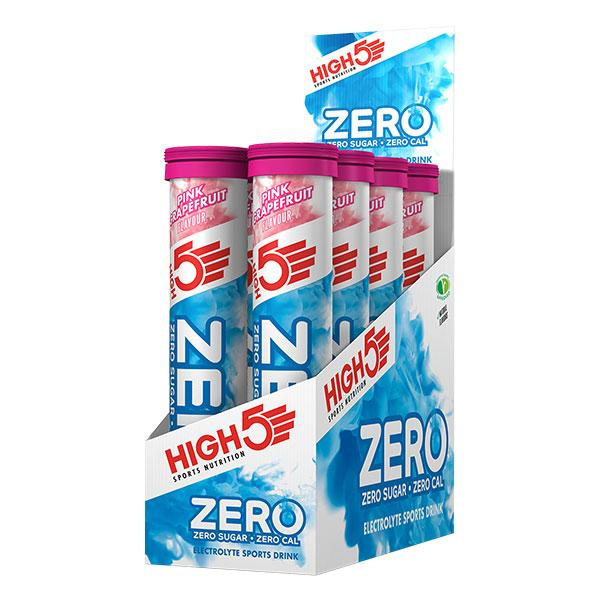Nutri-Bay HIGH5 - Pastilles ZERO Box (8x20x4g) - Pink Grapefruit