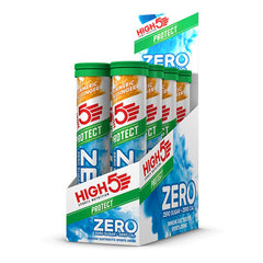 Nutri-Bay HIGH5 - Pastilles ZERO PROTECT - Hydratation Drink  (20x4g) - Curcuma & Gingembre - Box