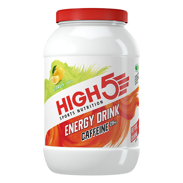 Nutri-bay | HIGH5 – Energy Drink Caffeine (2.2kg) -  Agrumes (Citrus)