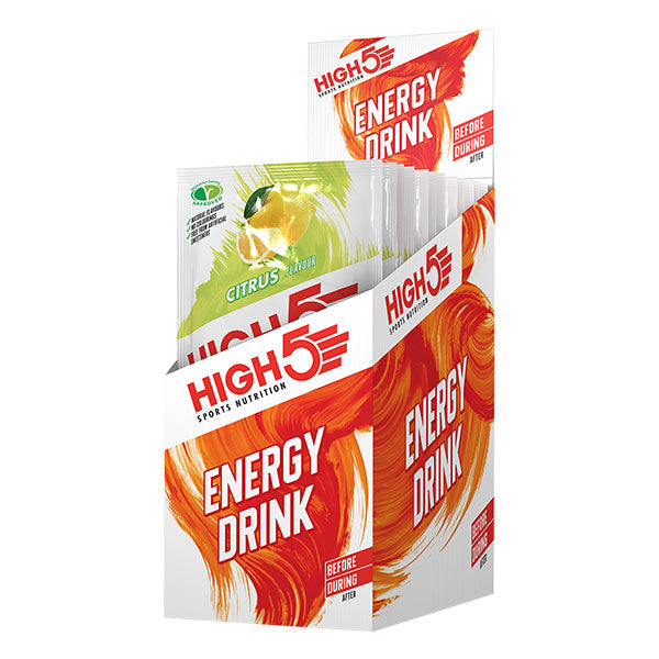 Nutri-Bay HIGH5 – Boisson Energy Drink (47g) - Agrumes (Citrus) - Box