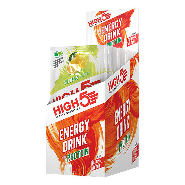 Nutri-bay | HIGH5 - Energy Drink with Protein 4: 1 (47g) Citrus (Citrus)