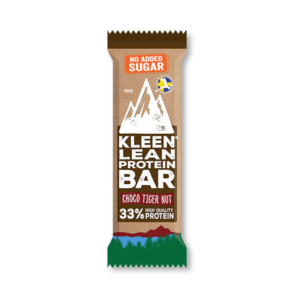 Nutri-Bay Kleen Lean - Protein Bar 33% (50g) - Choco Tiger Nut
