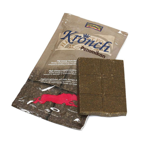 Kronch Pemmikan (4x400g) - Energy bars for dogs