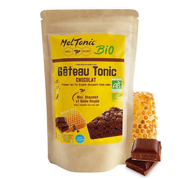 Nutri-Bay Meltonic Organic Energy Cake (400g) - Chocolate, Honey & Royal Jelly