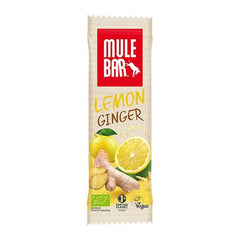Nutri-Bay MULEBAR - Barre Énergétique BIO (40g) - Lemon Ginger - Citron / Gingembre