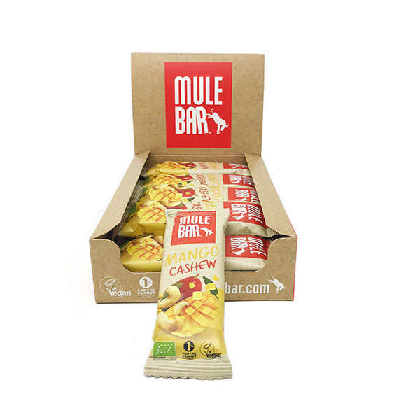 utri-Bay Mulebar - Energy Bars Box (15x40g) - Mango Cashew Nuts