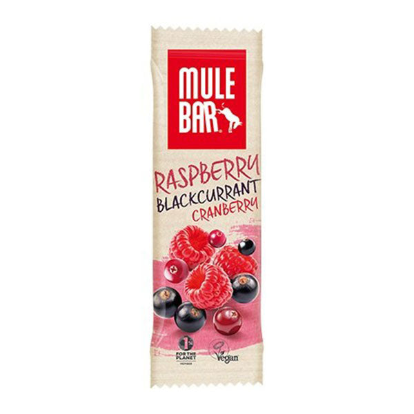 Nutri-Bay MULEBAR - Energy Bar (40g) - Raspberry Blackcurrant Cranberry - Raspberry Blackcurrant Cranberry