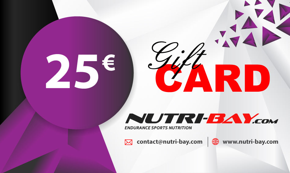 Nutri-Bay Gift Card 25€ - disponible instantanément