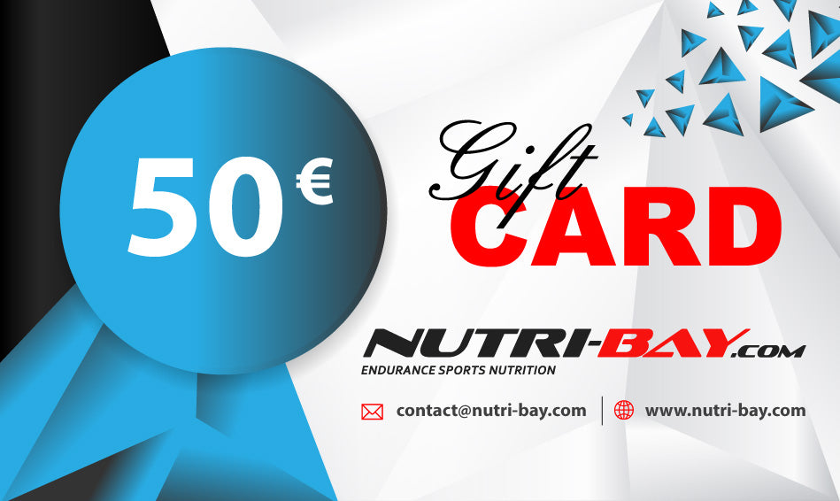Nutri-Bay Gift Card 50€ - disponible instantanément