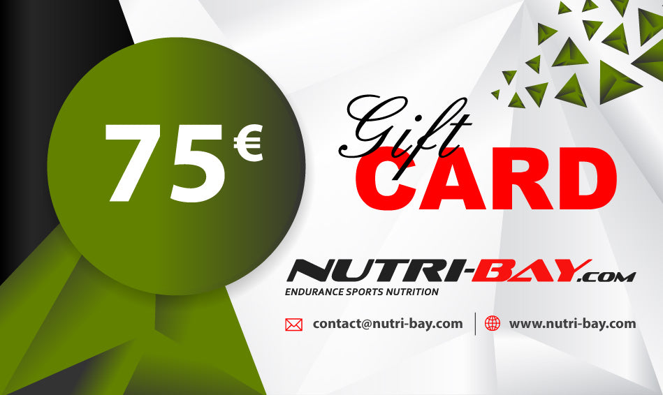 Tarjeta de regalo Nutri-Bay 75 € - disponible al instante