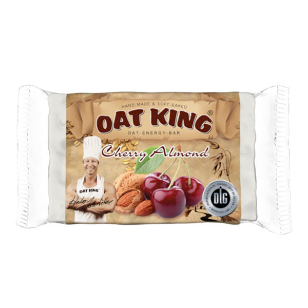 Nutri-Bay Oat King Energy Bar (95g) - Cherry Almond (Cerise Amandes)