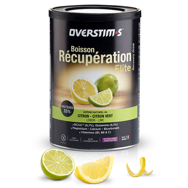 Nutri-Bay Overstims Lemon-Lime Elite Recovery Drink