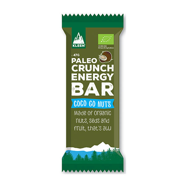 Nutri-Bay PALEO CRUNCH - Organic Energy Bar (47g) - coconut - coconut go nuts