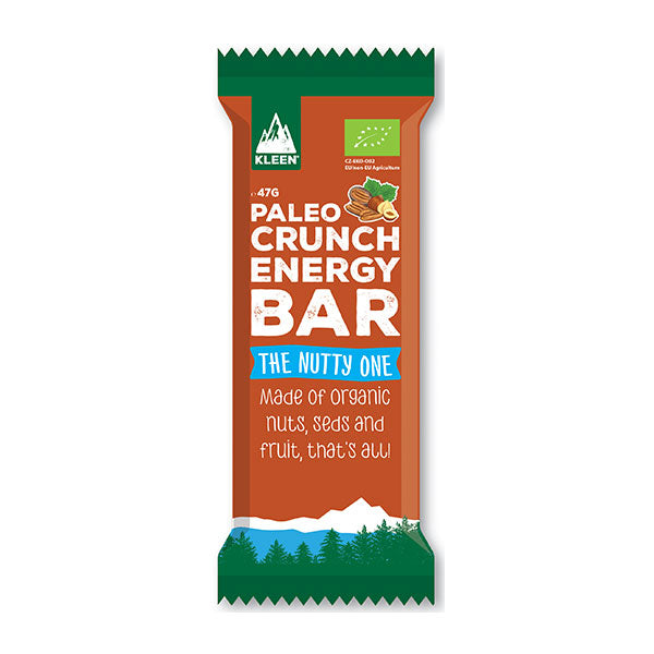 Nutri-Bay PALEO CRUNCH - Organic Energy Bar (47g) - Nuts - Nutty One