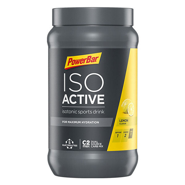 Nutri-Bay POWERBAR - Boisson Isotonique ISO ACTIVE (1320g) - Lemon