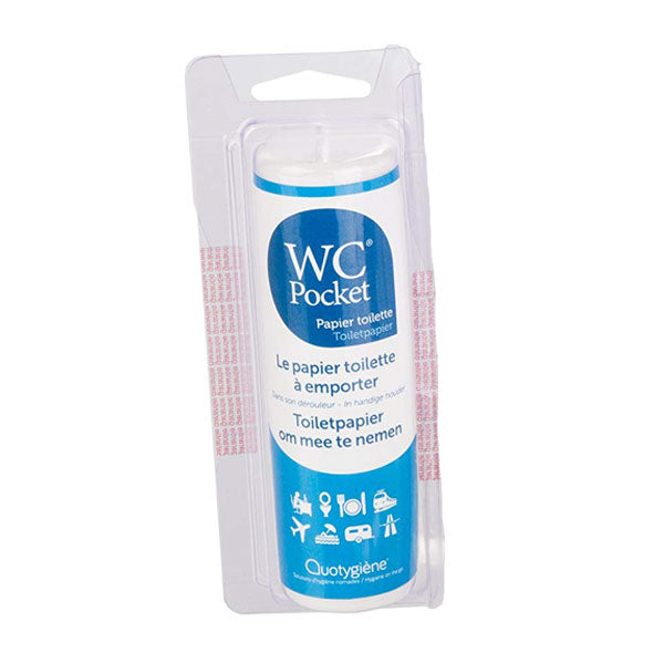 Nutri-Bay Quotygiène WC Pocket Papier Toilette à emporter