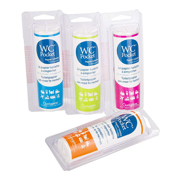 Nutri-Bay Quotygiène WC Pocket Toilet paper to go - all colors