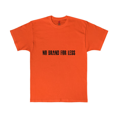 No Brand For Less Tagless T-Shirt