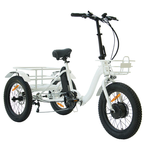 "20"" Qik.Bike NEW TRIKE Folding Electric Bicycle"