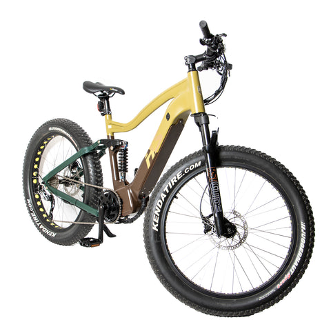 "26"" Qik.Bike 1000W ALL TERRAIN MID MOTOR Electric Bicycle"