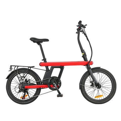 "20"" 250W Z1 City Touring Electric Bicycle"