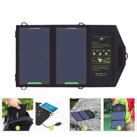 10W 5V Solar Panel Battery Charger