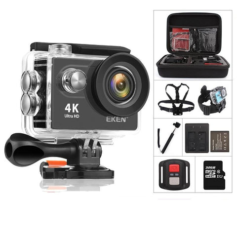 "Ultra HD 4K / 30fps 2.0"" Waterproof WiFi Action Camera"