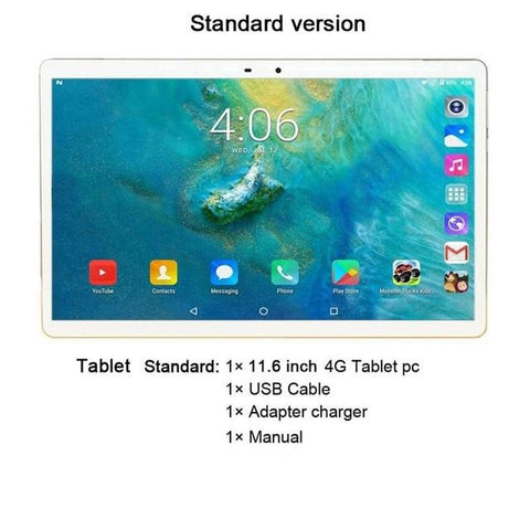 "11.6"" 2 in 1 Android Tablet"