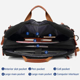 Multi-functional Convertible Travel Briefcase/Backpack