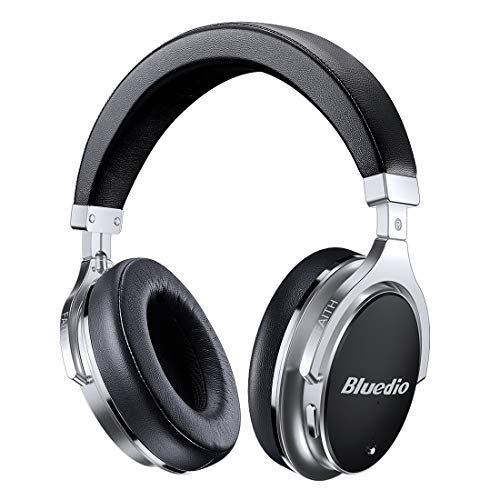 f0286d7435b Bluetooth Headphones Active Noise Cancelling, Bluedio F2 ANC Over Ear Wireless  Headphones 180° Rotation