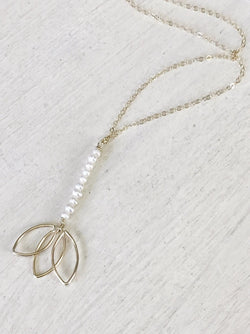 Blossom Y Necklace