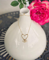 Heart + Charms Necklace