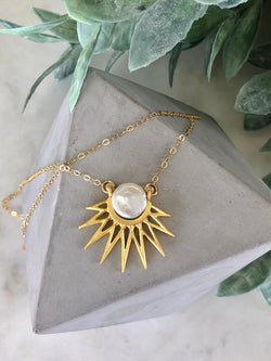 Celestial Sunbeam Necklace