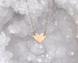 Mini Solid Heart Necklace