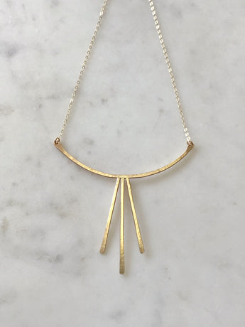Sunbeam Drop Necklace