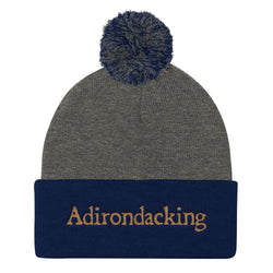 Adirondacking - Pom Pom Knit Cap