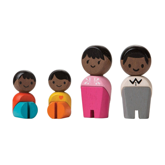 Black Family by Plan Toys
