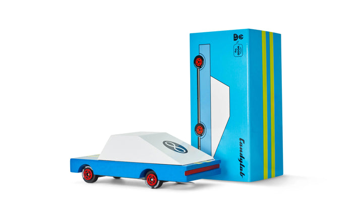 Candycar - Blue Racer - #8 by Candylab Toys