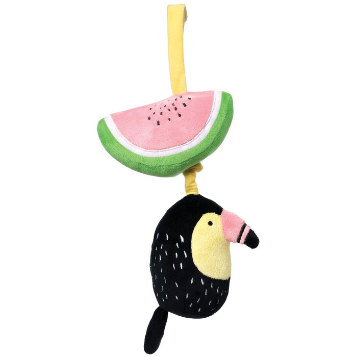 Pull Musical Toucan By Manhattan Toy