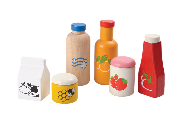 Food And Beverage Set by Plan Toys